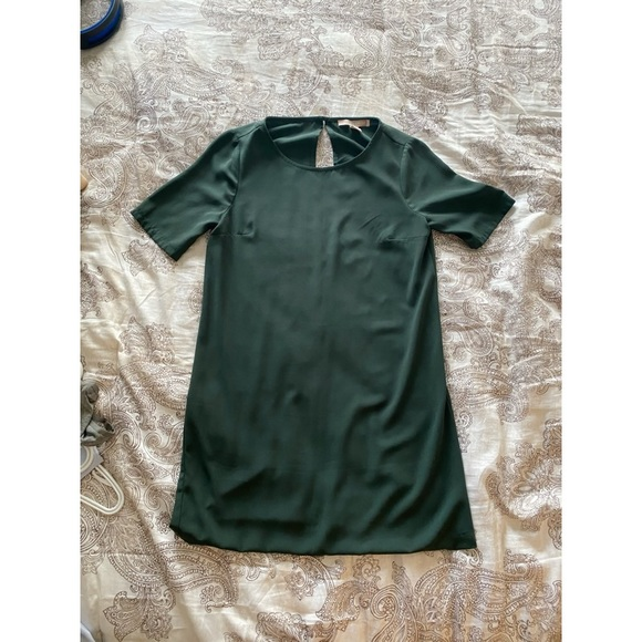 Forest Green Mid Length Dress